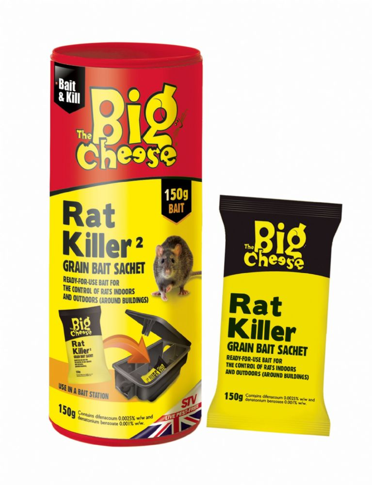 STV Rat Killer Grain Bait Sachet